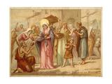St Genevieve Saving Paris from Famine  465