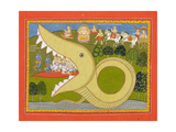 Krishna and the Cowherds Enter Agasura's Mouth, C.1800 Giclee Print