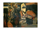 The Annunciation and the Deposition Giclee Print