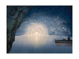 Blue Grotto, Capri Island, Italy, C.1890-C.1900 Giclée-Druck