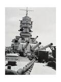 Position for Maneuvers of Battleship Littorio, Italy, 20th Century Gicléedruk