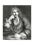 Portrait of Jean-Baptiste Poquelin, known as Moliere, Giclee Print