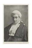 The New Lord Justice of Appeal, Sir Charles James Mathew Lámina giclée