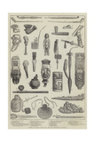 Ancient and Curious Tobacco-Pipes, from the International Exhibition Lámina giclée