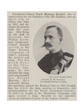 Colonel F M Rundall, for Special Service in China Giclée-vedos