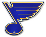 St. Louis Blues Steel Magnet Magnet