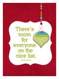 The Nice List Impressão giclée por Cheryl Overton