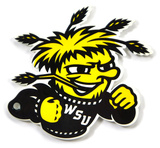 Wichita State Shockers Steel Magnet Magnet