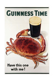 Guinness Time, C.1940 Giclée-tryk