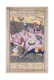 Shirin Bathing, C.1580 Lámina giclée