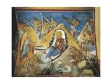 Paintings of the Nativity Scene, Panagia Too Araka, Lagoudera, Cyprus Giclee Print