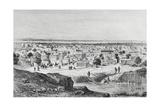 Kano City, Nigeria, 19th Century Giclée-tryk