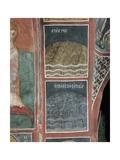 Fresco in a Church, Panagia Ties Asinou Church, Nikitart, Cyprus Giclee Print