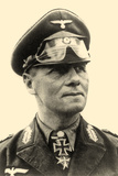 Portrait of General Erwin Rommel C.1942 Reproduction photographique