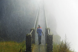 Victoria Falls, Zambia Fotografisk tryk