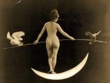 Night, C.1895 Valokuvavedos