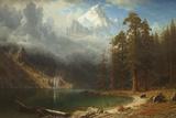 Mont Corcoran Reproduction procédé giclée par Albert Bierstadt