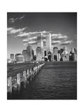 World Financial Center Clouds Shadows Reproduction photographique par Henri Silberman