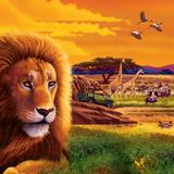 Big Buck Safari Cabinet Art Autocollant mural par John Youssi
