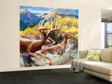 Big Buck HD Cabinet Art Iso seinämaalaus tekijänä John Youssi
