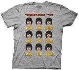Bob's Burgers- Many Moods Of Tina T-shirts