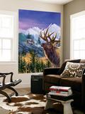 Big Buck Pro Open Season Cabinet Art Seinämaalaus tekijänä John Youssi