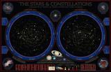 Wonders Of The Constellations Wall Chart Kunstdruck
