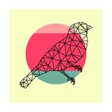 Bird and Sunset Láminas por Lisa Kroll