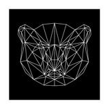 Bear Polygon Láminas por Lisa Kroll