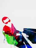 Ray Watercolor Plastikschild von Lora Feldman