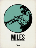 Miles 1 Plastic Sign by Aron Stein