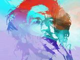 Keith Richards Targa di plastica di  NaxArt