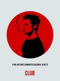 Club Poster 2 Plastskilt av Anna Malkin