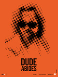 Dude Big Lebowski Poster Plastic Sign by  NaxArt
