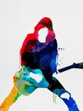 Johnny Watercolor Kunststof borden van Lora Feldman