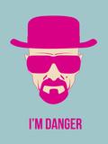 I'm Danger Poster 2 Plastic Sign by Anna Malkin