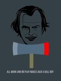 Shiny Poster 3 Placa de plástico por Anna Malkin