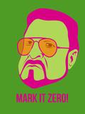 Mark it Zero Poster 2 Placa de plástico por Anna Malkin