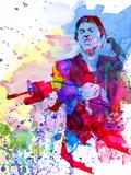 Scar Watercolor Placa de plástico por Anna Malkin
