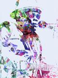 John Lee Hooker Cartel de plástico por  NaxArt