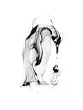 Penguin Fuel Giclée-Premiumdruck von Alexis Marcou