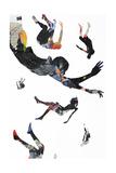 Jump Kunstdrucke von Alex Cherry