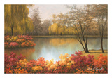 Autumn Palette Poster by Diane Romanello