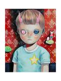 Children of This Planet 23 Giclée-Premiumdruck von Hikari Shimoda