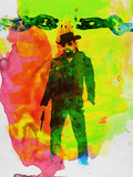 Unchained Watercolor Kunststof borden van Anna Malkin