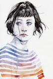 Amanda Kunstdrucke von Agnes Cecile