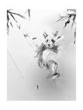Panda Giclée-Premiumdruck von Alexis Marcou