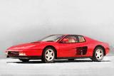 1983 Ferrari 512 Testarossa Signe en plastique rigide par  NaxArt