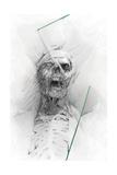 Skull 58 Kunstdrucke von Alexis Marcou