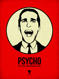Psycho 1 Plastikskilt af Aron Stein